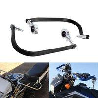 "Parts 7 8"" 22mm Motorcycle Hand Guards Universal Aluminum Protector Motocross Dirtbike Handguards Handlebar 1 Pair"