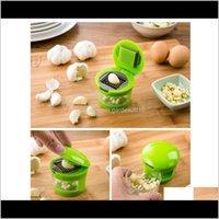 Fruit Tools Kitchen, Dining Bar Home & Gardengarlic Chooper Hand Press Plastic Mini Garlic Grinder Ginger Grater Cutter Vegetable Slicer Kit
