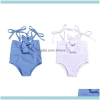 One-Pieces Swim Clothing Baby, Kids & Maternity Baby Girl One Piece Swimsuit Solid Print Swimwear Strap Sunsuit Summer Beachwear Outfit Drop