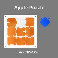 Transparent Acrylic Jigsaw Board The Hardest 9 Puzzles Children Adults Montessori Educational Toys for Kids