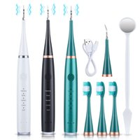 Electric Ultrasonic Teeth Cleaner Tartar Cleaning Whitening Dental Calculus Remover Oral Irrigators