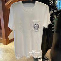 Japanese straight hair 2   15 short sleeve T-shirt