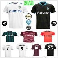 2020 2021 ليدز لكرة القدم الفانيلة كوستا بامفورد كلارك Alioski Poveda Klich مخصص 20 21 United Home Away الرجال الكبار أطفال كرة القدم القمصان