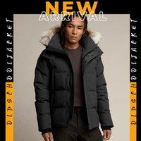Parker męska w dół kurtka zimowy futro odzież moda projektowa jakość dobrego zamek błyskawiczny z długim rękawem dorywczo ulica plenerowa ciepła kaptura gruba bawełna