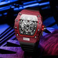 Relojes de pulsera Reloj fresco Reloj de hombre de calidad superior Kimsdun Lujo impermeable Tonkin Silicone Sports RM Reloj masculino Relogio Masculino