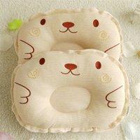 Mais novo recém-nascido criança infantil bebê anti rolo de sono travesseiro bebês posicionador prevenir a cabeça lisa almofada linda almofadas bonitos 1011 x2