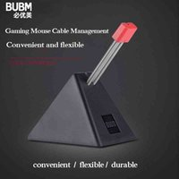 BUBM Mouse Cable Holder,Cord Clip Wire Organizer,Wire Cord Cable Management Holder For Mice Perfect Playing Game CS CF LOL Q0514
