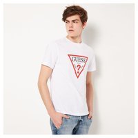 Brand Guess men's new lovers' round neck short sleeve cotton T-shirt in 2019