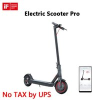 Youpin Original Pro Electric Scooter Mijia Foldable Longboard Hoverboard 스케이트 보드 45km 마일리지 성인 2 륜 2 륜