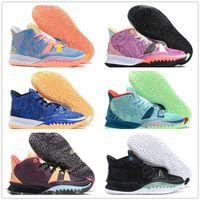 Yüksek kaliteli Kyrie 7 Rayguns Basketbol Ayakkabıları Erkekler 7 S EP CNY Kardeşhood PH Soundwave Creator BK Siyah Spor Sneakers Trainersair Max Moda