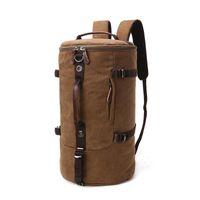 Lienzo unisex casual personalizado mochila retro bolso plegable de viaje al aire libre Senderismo