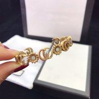 70% Rabatt auf Luxus Schmuck Gujia kleine Halskette Frauen Paar Daisy Armband Quaste-Buchstaben-Ohrringe