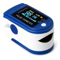 50%off Fingertip Electronic Oximeter Digital Pulse TFT Screen Sleep Oxygen Saturation Prbpm Monitor Finger Clip Blood Heart Rate spin