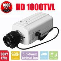VANXSE CCTV 3.5-8mmオートアイリスバリフォーカルズームレンズ1/3ソニーエフィオCCD 1000TVL / 960HセキュリティボックスカメラIPカメラ