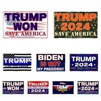 90*150cm Donald Trump Flags USA President Election Flag 2024 US Presidential Campaign Banner Trump Won 2024 Flags ZC421
