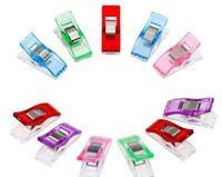 Sac de stockage Organisation de ménage Accueil Jardin Drop Livraison 2021 10 Couleurs Mini Plastique Serre des Clips Serre pour DIY Patchwork Tissu Qu.