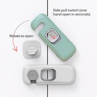 Home Refrigerator Lock Fridge Freezer Door Catch Toddler Kid...