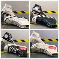 2021 más recientes 70s zapatillas de lona de la lona de los hombres de alta calidad blancos blancos para mujer zapatos de skateboarding tamaño 35-44