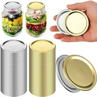 70mm 86mm Regular Mouth Canning Lids - 100% Fit For Ball Kerr Jars Food Grade Material Split-Type Metal BPA Free Airtight and Leak Proof Accept Customized