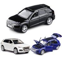 132 Audie Q5 Q5L Auto Modello Auto Auto Auto Die Cast Giocattolo Modello auto Tirare indietro Partire per bambini Giocattolo da collezione
