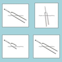 Other Event Festive Party Supplies Home & Garden Classical 440Hz A Tone Stainless Tuning Fork For Violin Guitar Instrument Nc Standard Tuner