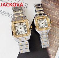 Top brand Chronograph Mother of Pearl Ladies quartz Watch Famous square roman dial designer diamonds Jewelry nice Women Men watches High Quality wholesale price