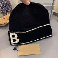 Beanie Klasik Mektup Örgü Bere Erkekler Ve Kadınlar kadın Sonbahar Ve Kış Sıcak Kalın Kaşmir Işlemeli Şapka