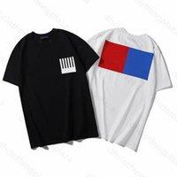 2021 Männer Casual T-Shirt Größe S-3XL Mans Designer T-Shirts Luxus Mann T-Shirt Kurzarm Herren Frauen T-Shirt mit Buchstaben Drucken Kurzhülse
