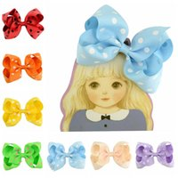 YLSP Fashion Cute Mini Bowknot Hair Clips For Baby Girls Colorful Hairclip Hairpins Barrettes Child Kids Headwear Accessories