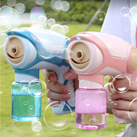 New Summer Smoke Fog Spray Magic Bubble Electric Automatic Machine Gun Toy For Boys Girls Outdoor Sport Party Water Blower Toys