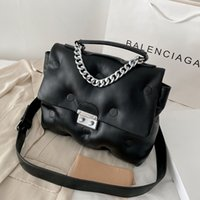 Small Chain Brand Designer PU Leather Crossbody Bags For Women 2021 Simple Totes Shoulder Bag Lady Luxury Handbags And Purses