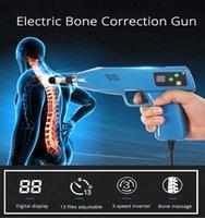 6 Kafalar 13 Seviyeleri Ayarlanabilir Omurga Kiropraktik Enstrüman Elektrikli Kemik Düzeltme Tabancası Aktivatör Servikal Terapi Masajı