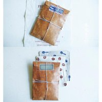 Gift Wrap Retro Old Color Lacquered Kraft Paper Envelope Postcard Storage Bags Collection Bag Home Packaging Q6z0