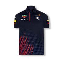 Championnat du monde de formule F1 Racing T-shirt Revers Polo à manches courtes Team Workwear Workwear Hommes et femmes