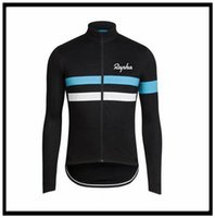Rapha Team Cycling Mangas largas Jersey Ropa MTB Montaña Respirable Racing Sports Wear Bicycle Maillot Soft Skin Friendly 50492
