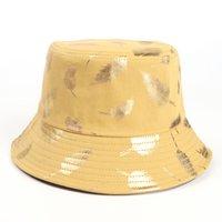 Yaz Kova Şapka Balıkçı Kap Kadın Erkek Hediye Geniş Ağız Çiçek Evrensel Açık Seyahat Güneş Plaj Şapkaları GGA4642