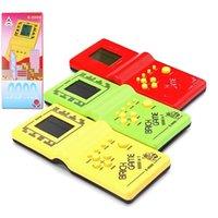Classic Tetris Protables Jeux Jeux de Jeux électroniques Console de jouet pour enfants Détendez-vous jouer à GamePad Jouets Cadeau
