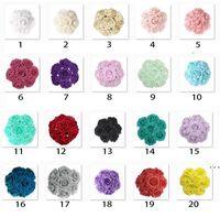 Sıcak Satış Renkli Köpük Yapay Gül Çiçekler W / Kök, DIY Düğün Buketleri Korsan Bilek Çiçek Başlığı Centerpieces HWD6098