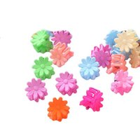 Girls Hair Accessories Hairclips Claws Baby Bb Clip Kids Barrettes Clips Candy Color Flower Claw Cute B8219