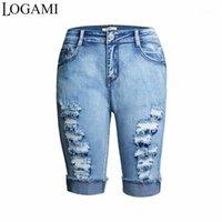 Logami Stretch Roade джинсы для женщин скинни Длина джинсы Джинсы Джинсовые1