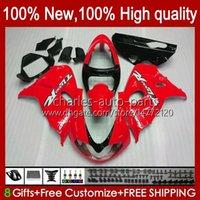 Kit di carenatura per Suzuki Srad TL1000R TL-1000R 1998 1999 2000 2001 2002 2003 19hc.49 TL-1000 TL 1000 R 98-03 Glossy Red Bodywork TL 1000R TL1000 R 98 99 00 01 02 03 Corpo OEM