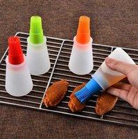Outras ferramentas de cozinha Garrafa de silicone portátil com escova grelha escovas Pastelaria de óleo líquido Ferramenta para churrasco em estoque 0kv3