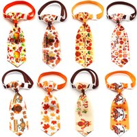Printing Handmade Summer Style Pet Dog Apparel Puppy Cat Bow Ties Adjustable Bowties Bowknot Cats Collar Pets Grooming Accessories 4818 Q2