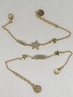 2020 Versione SEIKO Nuovo braccialetto a due pezzi Braccialetto a cinque punte a cinque punte della stella della stella delle donne Braccialetto del mattone dell'acqua