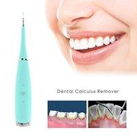 Electric Sonic Dental Scaler Die dientes Herramienta de blanqueamiento de dientes Tártaro Placa Manchas Manchas Cálculo Removedor