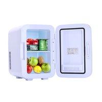 Freezer elétrico mini frigorífico portátil mais fresco mais quente 6L 0.21 CUFT 8 CAN DC sistema termoelétrico