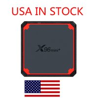 ship from france X96 Mini Plus X96mini Android 9.0 Smart TV Box 2G 16GB Amlogic S905W4 Quad Core 2.4&5G WiFi Set Top Media Player