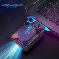 Coolcold Vacuum Portable Portable Air Enfriador de Aire Extracto Extracto Extracto Refrigerador Cuaderno para 15 15.6 Laptop Portátil