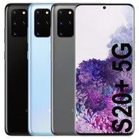الأصلي تم تجديده Samsung Galaxy S20 + S20 زائد 5 جرام G986U G986B G986B G986B / DS 6.7 بوصة Octa الأساسية 12 جيجابايت RAM 128GB ROM NFC الهاتف الخليوي الذكي 5 قطع