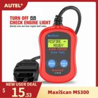 Codice lettori Strumenti di scansione Autel Maxiscan MS300 OBDII Automotive Reader Diagnostico Accessori auto OBD2 Escaneo del motore